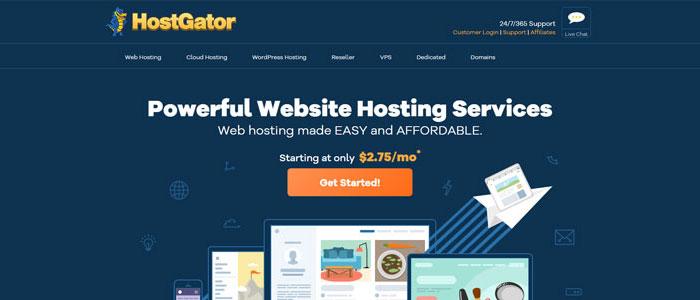 HostGator best hosting for freelancers