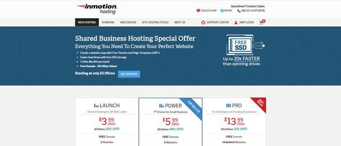 InMotion Hosting Freelance